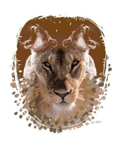 """""""Leo"""". Janet Botes. South Africa"""