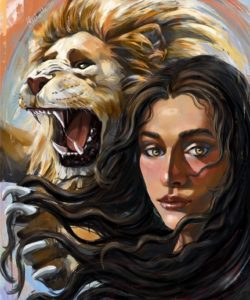 """Lion Heart"". Michelle Webb. Australia"