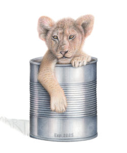 """Canned Lion"". Martin Aveling. United Kingdom"